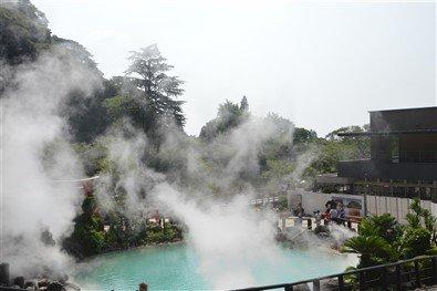 L'eau des volcans de Kyushu