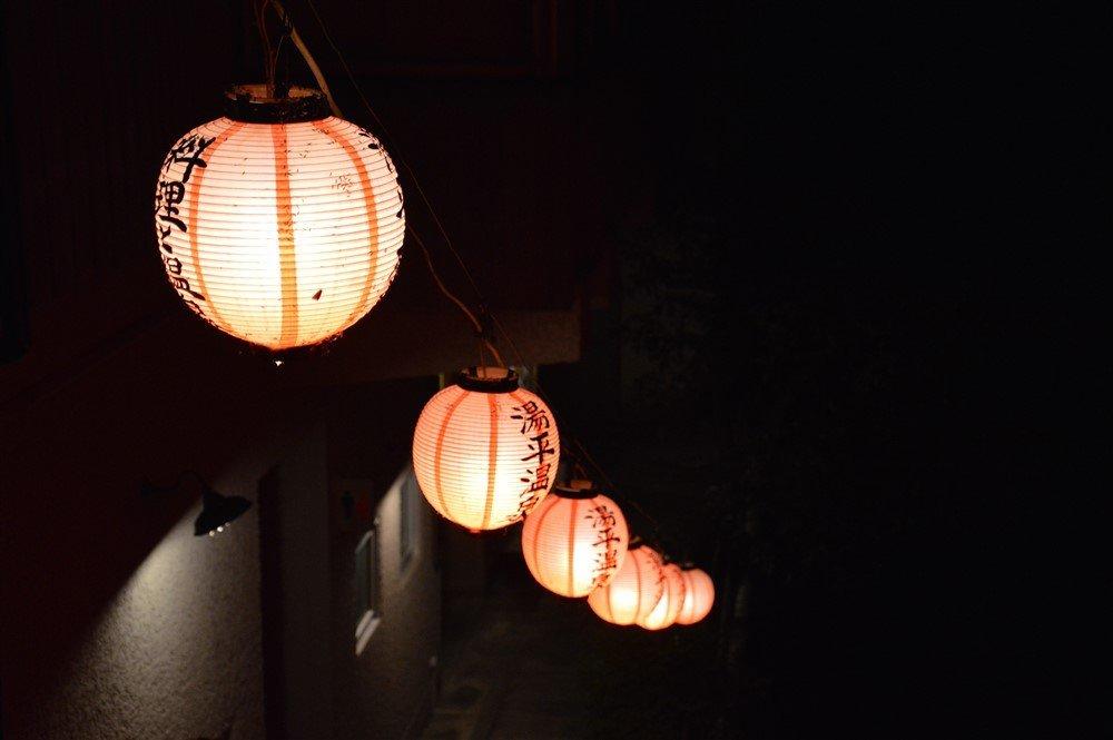 Lanternes au Japon
