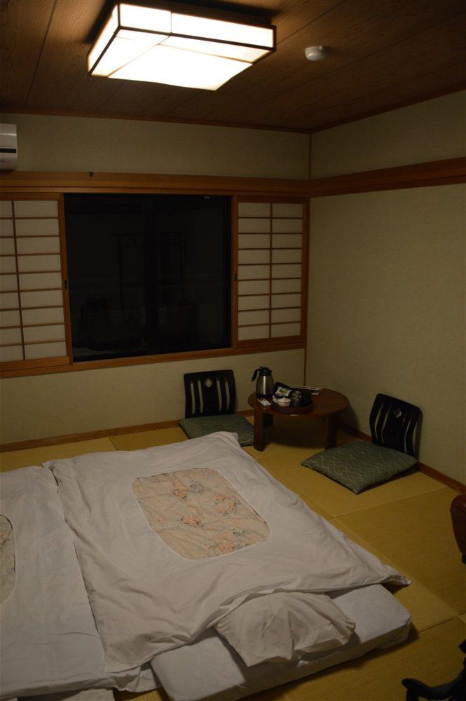 Une nuit en Ryokan