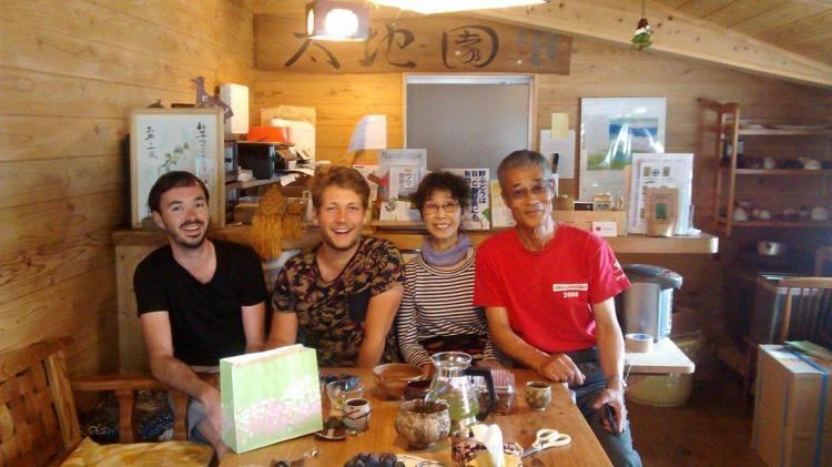 Belles rencontres au Japon