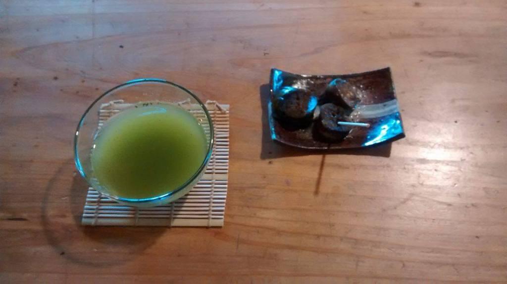 Le thé vert de Kawaminami