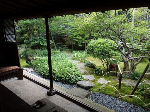 Un jardin Zen au Japon