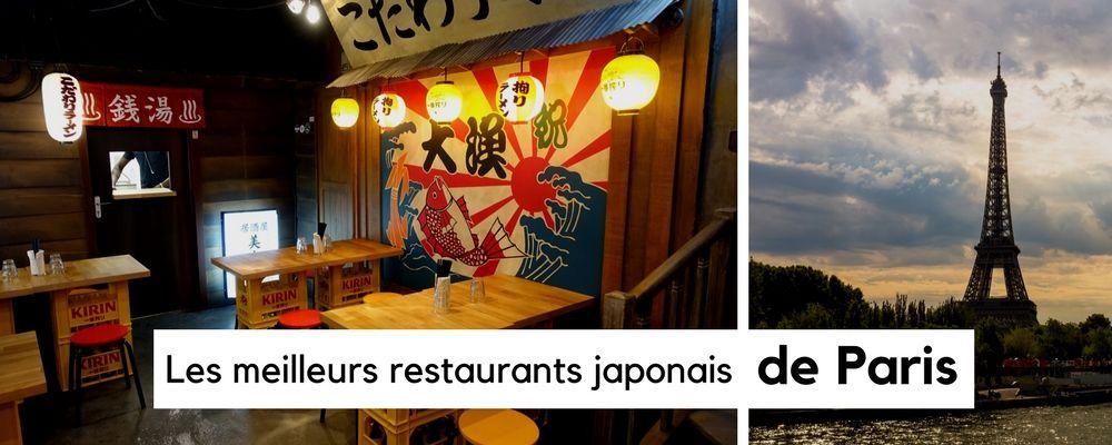 Les meilleurs restaurants japonais de Paris