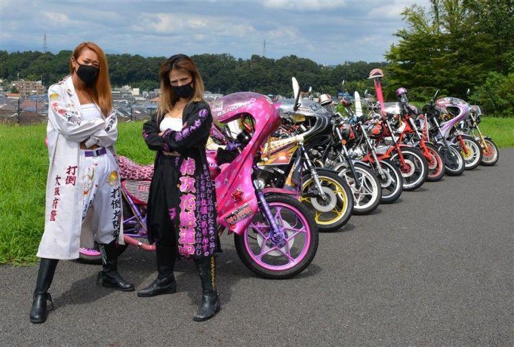 Bosozoku les motards japonais