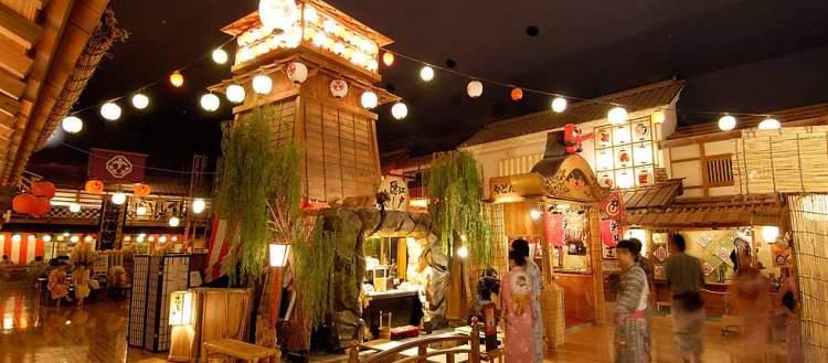 Oedo onsen à Odaiba