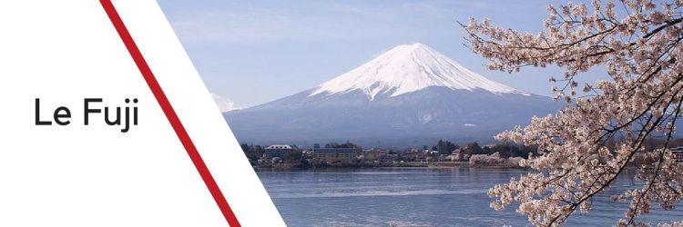 Itinéraire au Mont Fuji