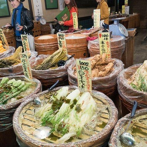 Le marché Nishiki