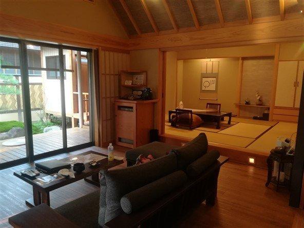 Une chambre de ryokan