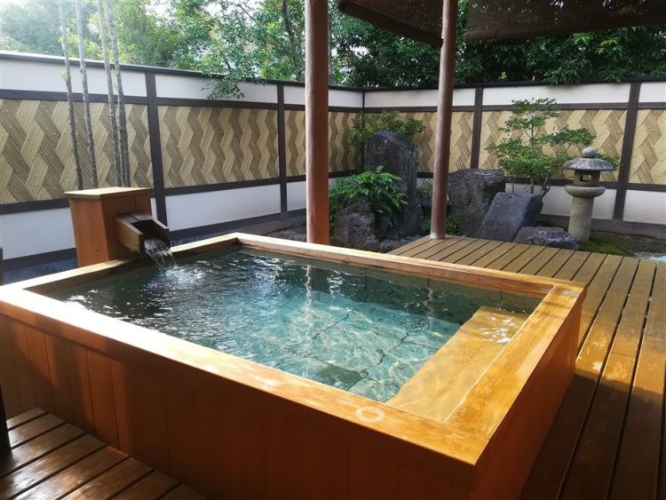 ryokan et onsen privé