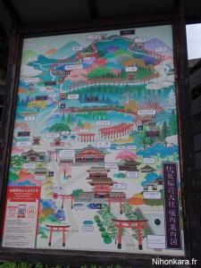 Mademoiselle prend la pose au Fushimi Inari