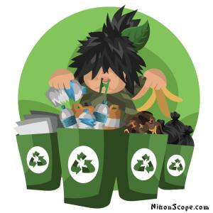 Learn how to separate your trash in fukuoka japan