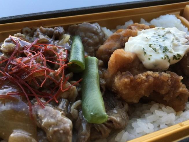 黒毛和牛焼肉とチキン南蛮弁当 西麻布吾空 羽田空港お弁当 (5)