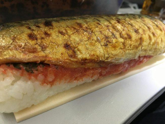 やまやの博多めんたい焼き鯖ずし (8)