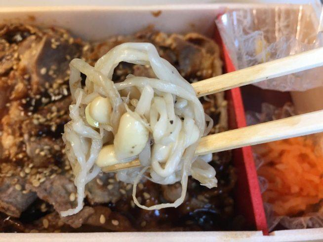 牛カルビ焼肉弁当 (11)