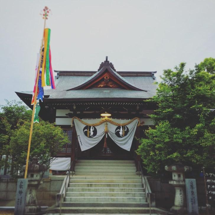 旭山神社拝殿