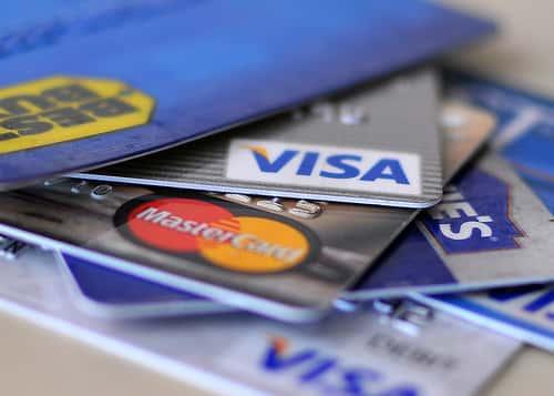 クレジットカードでも入金することが出来る
