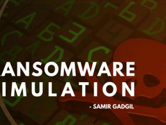 """Ransomware Simulation"""