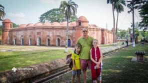 At 60 Dome Mosque in Bagerhat - a UNESCO World Heritage Site