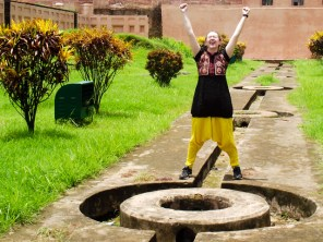 Excited at Lalbagh Fort