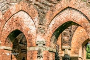 Archways inside Darasbari Mosque at Gaur