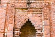 Terracotta design inside Darasbari Mosque at Gaur