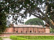 60 Dome Mosque at Bagerhat - A UNESCO World Heritage site in Bangladesh, built in 15th century.