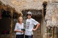 Visiting a Santhal village