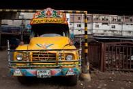 A traditional truck at Babu Bazar. ©Photo: Tony Eales