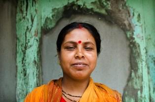 Dhamrai woman smiling. ©Photo: William Leonard