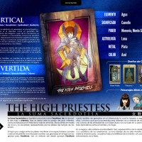 Infografía - II THE HIGH PRIESTESS