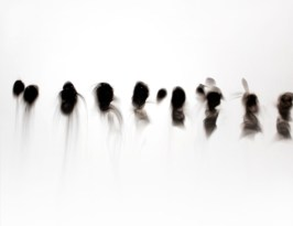 Singe, smoke on prepared board, 16 x 20 inches, 2010