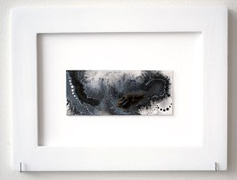 Small Series I, mixed media on paper, 5.25 x 7.25 inches, 2008