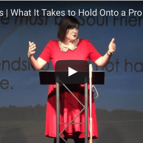What It Takes to Hold Onto a Promise