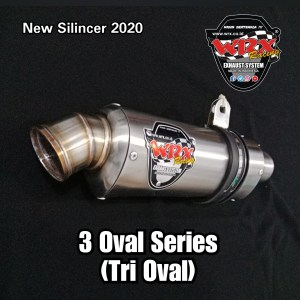 Knalpot Nmax 3 Oval Series New Silincer 2020