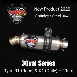 silincer wrx 3 oval series r1 & k1
