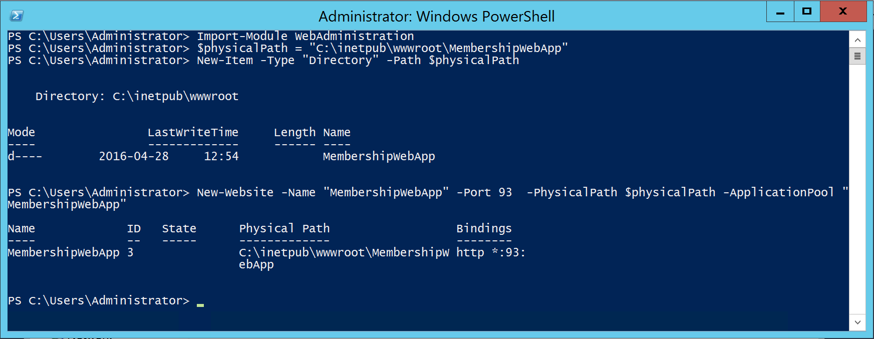 SharePoint Form-Based Authentication with SQL using PowerShell