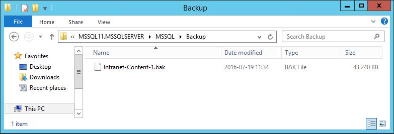 BackupFile