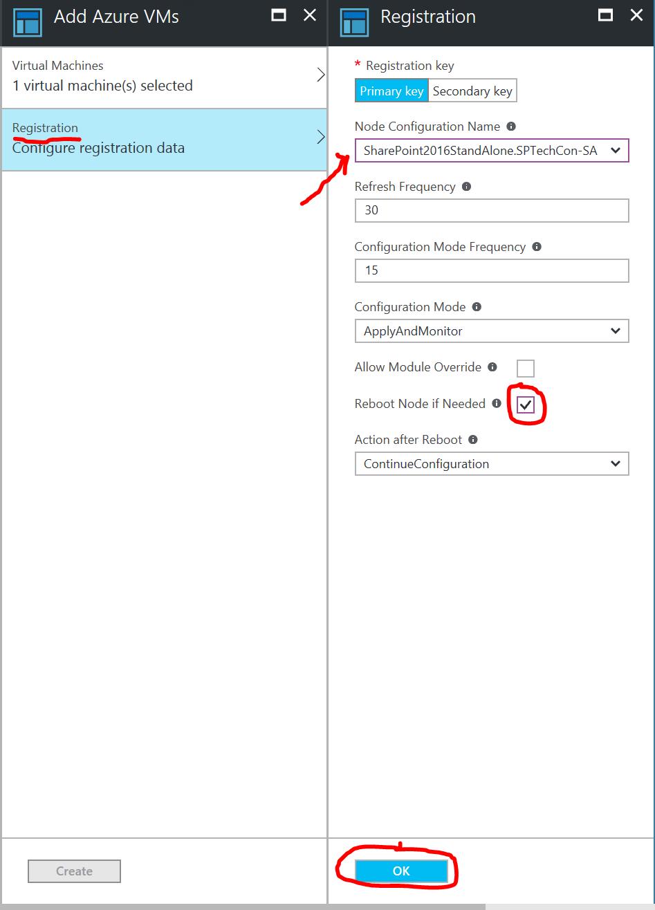 Associate Configuration