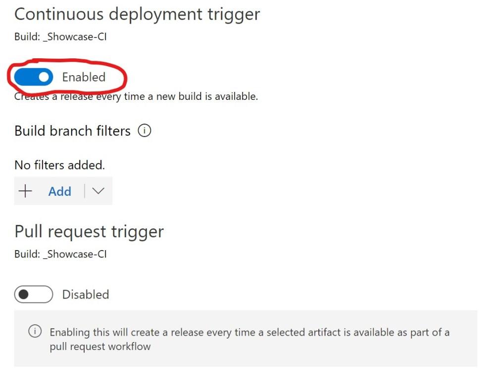 Azure DevOPS Continuous Deployment