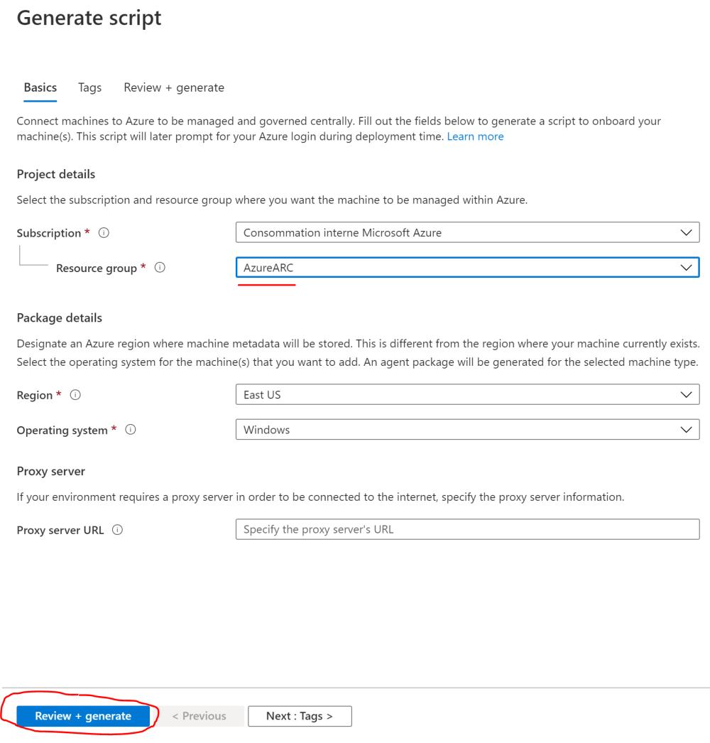 Azure Arc Servers