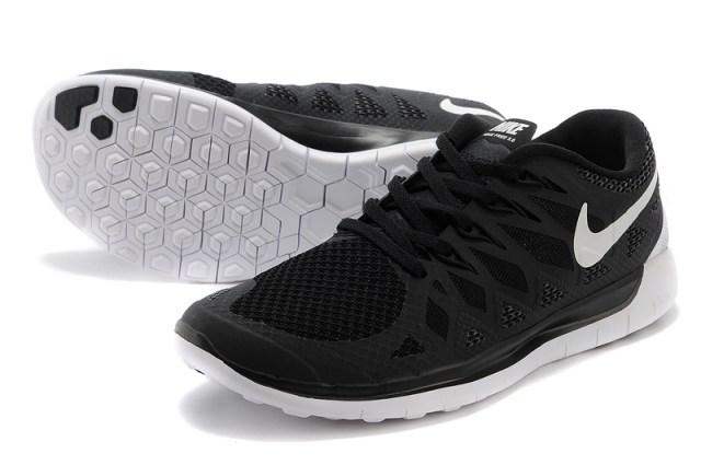 New-2014-Nike-Free-5-0-women-27s-running-shoes-black-white---0-6868-2