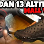 JORDAN 13 ALTITUDE REVIEW & MALL VLOG  DID YALL COP?