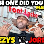MALL VLOG: YEEZY VS JORDAN WHICH ONE DID YOU COP?