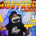 The All Purpose Mustache Restores  Military Air Jordan 4