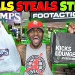 STEALS!! STEALS!! STEALS!! From Champs & Footaction!!!