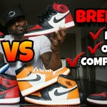 The Best Jordan 1 Leather Quality EVER? Bred Toe Comparisons, Review & On Foot