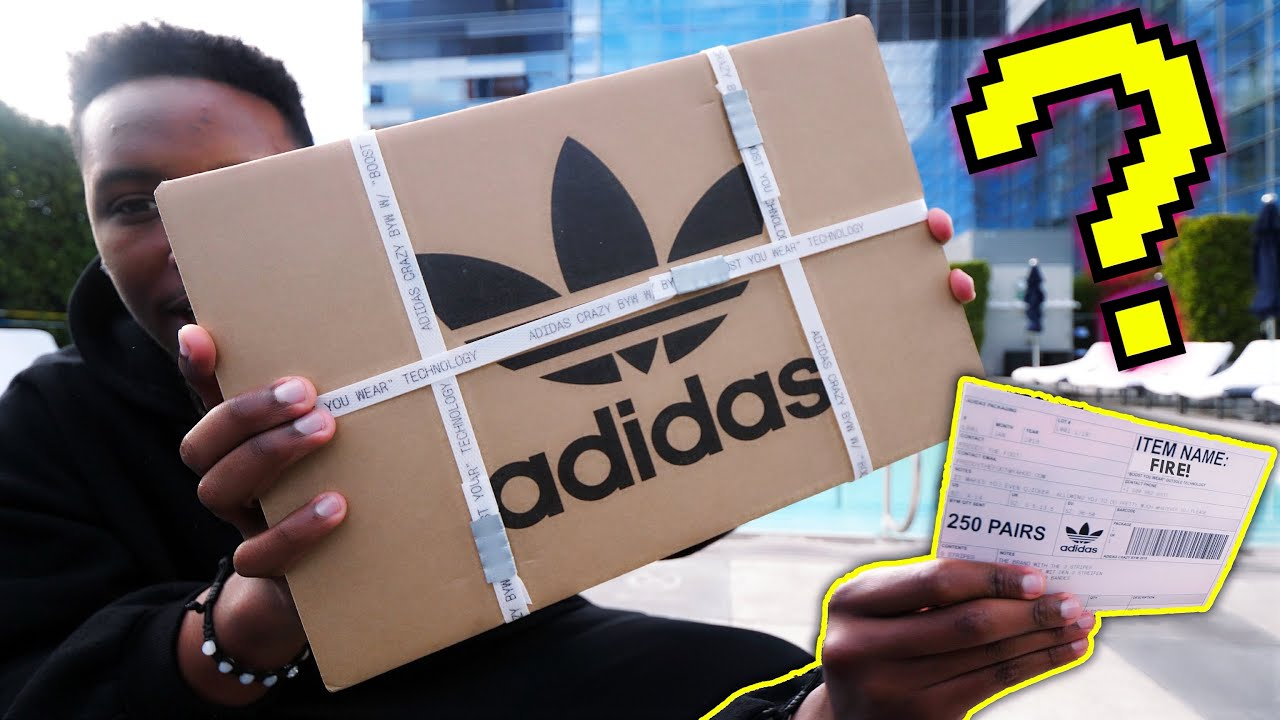 UNBOXING SOME EARLY SNEAKER HEAT STRAIGHT FROM ADIDAS BOOST ON BOOST - UNBOXING SOME EARLY SNEAKER HEAT STRAIGHT FROM ADIDAS! BOOST ON BOOST!