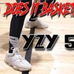 "Does It Basketball? Adidas Yeezy 500 Desert Rat ""Blush""!"