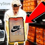 FINDING RARE NIKE OUTLET MYSTERY BOX!!