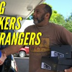 Giving Sneakers to Strangers!